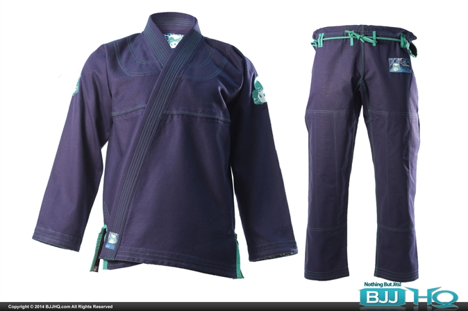 Inverted Gear Navy Bamboo CS Gi